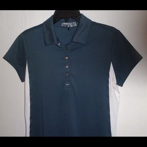 Nike Golf Top Size S (4-6) Athletic Shirt Wicking